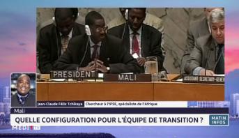 Quelle configuration pour l'équipe de transition au Mali, réponse avec Jean-Claude Félix Tchikaya