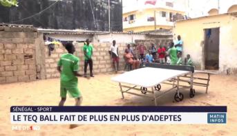 Sénégal: le Teqball fait de plus en plus d'adeptes