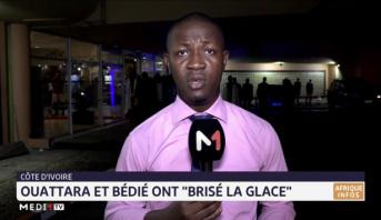 """Côte d'Ivoire: Ouattara et Bédié ont """"brisé la glace"""""""