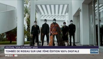 """Festival """"Visa for Music 2020"""": tombée du rideau sur une 7ème édition 100% digitale"""