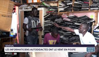 Sénégal: les informaticiens autodidactes ont le vent en poupe