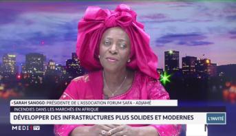 Incendies dans les marchés en Afrique: développer des infrastructures plus solides et modernes