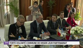 Maroc-France: forte volonté commune de hisser leur partenariat