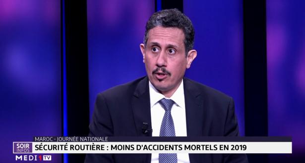 Sécurité routière au Maroc : moins d'accidents mortels en 2019