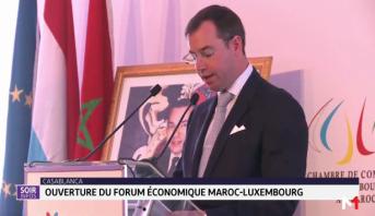 Ouverture du Forum économique Maroc-Luxembourg