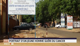 Niger : portrait d'un jeune homme guéri du cancer