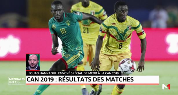 CAN-2019: résultats des premiers matchs de la compétition