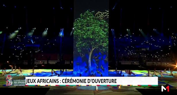 Jeux Africains: cérémonie d'ouverture