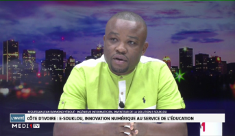 N'Guessan Jean Raymond Yéboué - E-Souklou, innovation numérique au service de l'éducation en Côte d'Ivoire