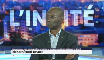 Colonel Babacar Diouf, conseiller spécial du directeur du CHEDS - Défis de sécurité au Sahel