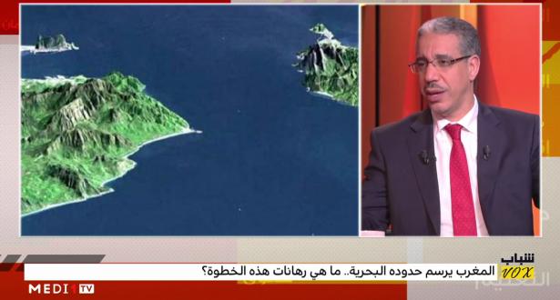 """رباح يوضح جدوى ترسيم الحدود البحرية للمغرب ويصف ما يتم تداوله بـ""""الإشاعات"""""""
