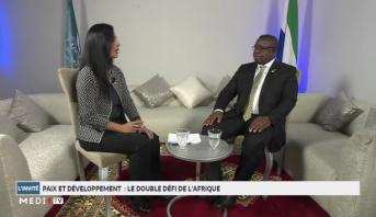 Invité : entretien exclusif avec Julius Maada Bio, Président de la République de Sierra Leone