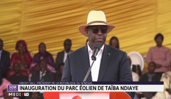 Sénégal: inauguration du parc éolien de Taïba Ndiaye