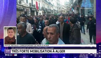 Très forte mobilisation à Alger