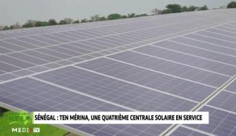 Croissance Verte > Sénégal .. Ten Mérina, une quatrième central solaire en service