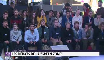 """COP25 à Madrid: les débats de la """"Green zone"""""""