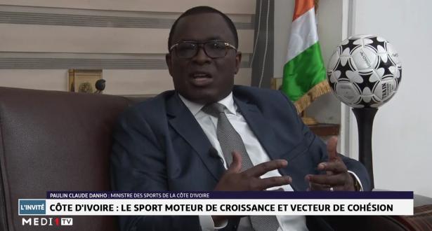 Entretien avec Paulin Claude Danho, Ministre des sports de la Côte d'Ivoire
