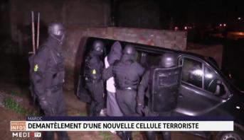 Le démantèlement d'une nouvelle cellule terroriste en vidéo
