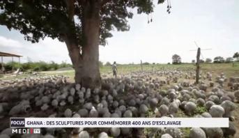 Ghana: des sculptures pour commémorer 400 ans d'esclavage