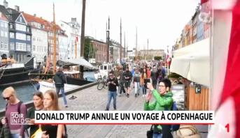 Trump annule un voyage à Copenhague