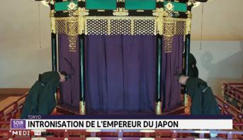 Japon: intronisation du nouvel empereur Naruhito