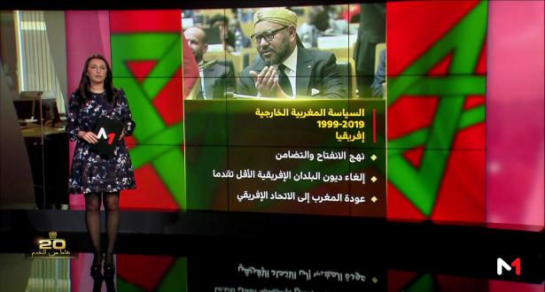 شاشة تفاعلية .. 1999-2019 .. عشرون سنة من الحضور المغربي البارز دوليا