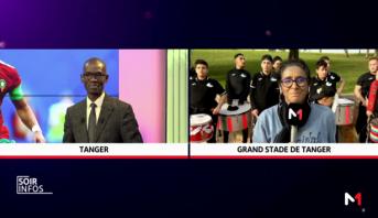 Tanger: ambiance festive avant le match Maroc-Argentine