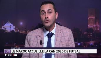Laâyoune: le Maroc accueille la CAN 2020 de Futsal