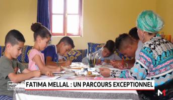 Fatima Mellal, le parcours exceptionnel d'une artiste peintre