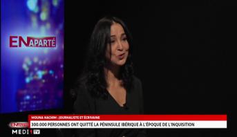 En aparté > En Aparté avec Mouna Hachim, journaliste et écrivaine