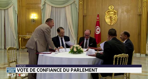 Tunisie: vote de confiance du parlement
