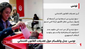 تونس: جدل وانقسام حول تعديلات القانون الانتخابي