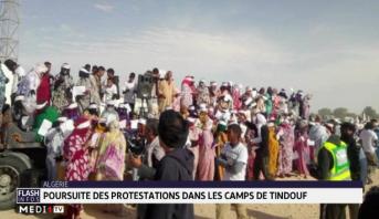 Algérie : poursuite des manifestations dans les camps de Tindouf