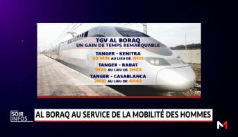 """Le TGV """"Al Boraq"""" au service de la mobilité des hommes"""