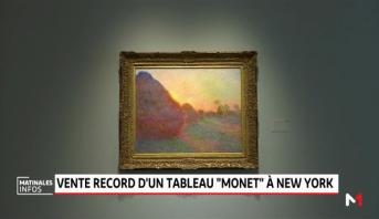 """Vente record d'un tableau """"Monet"""" à New York"""