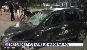 Hooliganisme: des gardes à vue après le match FAR-RCA