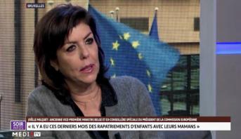 """Joelle Milquet invitée de l'émission """"Europe Afrique"""""""