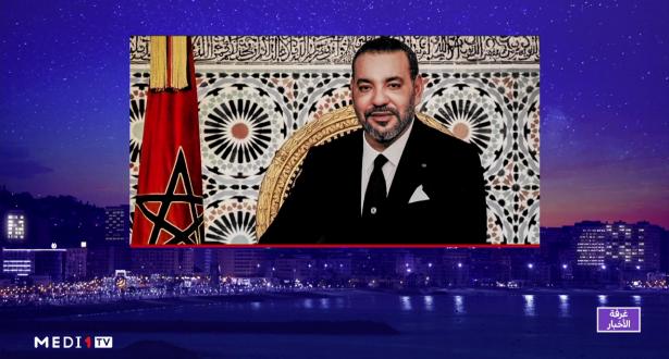 الملك محمد السادس يجري اتصالا هاتفيا مع الشيخ محمد بن زايد آل نهيان