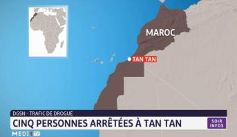Trafic de drogue: cinq personnes arrêtées à Tan-Tan