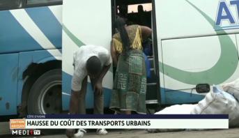 Côte d'Ivoire: hausse du coût des transports urbains