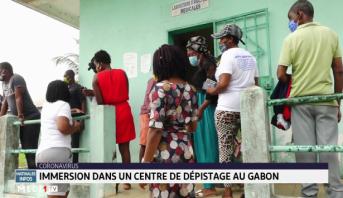 Coronavirus: immersion dans un centre de dépistage au Gabon
