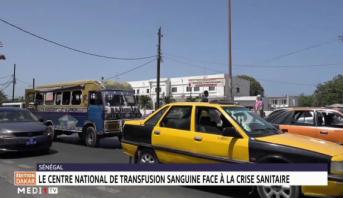Sénégal: le centre national de transfusion sanguine face à la crise sanitaire