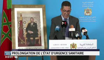 Maroc: prolongement de l'état d'urgence sanitaire