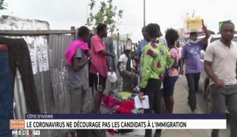 Côte d'Ivoire: le coronavirus ne décourage pas les candidats à l'immigration