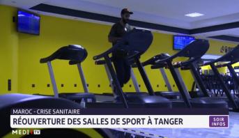 Réouverture des salles de sport à Tanger