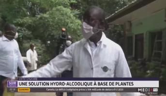 Côte d'Ivoire: une solution hydro-alcoolique à base de plantes