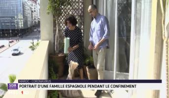 Coronavirus: portrait d'une famille espagnole pendant le confinement