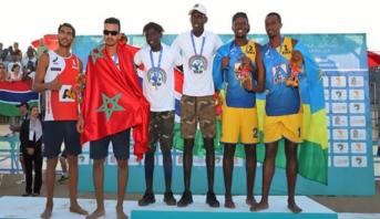 الألعاب الإفريقية .. المنتخب المغربي للكرة الطائرة الشاطئية يفوز بالميدالية الفضية