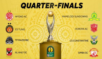 Ligue des champions de la CAF: les affiches des quarts de finale