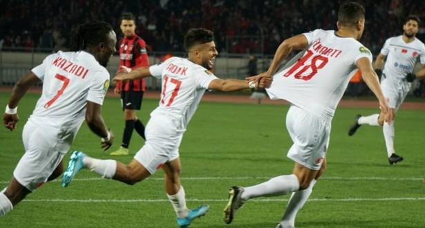 Ligue des Champions d'Afrique: le WAC en quarts de finale après sa victoire face à l'USM Alger